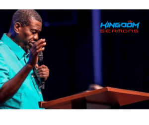 Nothing Is To Small To Give – Pastor EA Adeboye