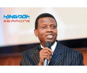 The Source Of All Strength – Pastor EA Adeboye
