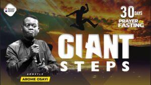 Download Sermon: Giants' Steps – Apostle Arome Osayi [Mp3 Download]