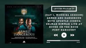 Armed And Dangerous Part 1-3 HODR PTR   Apostle Joshua Selman