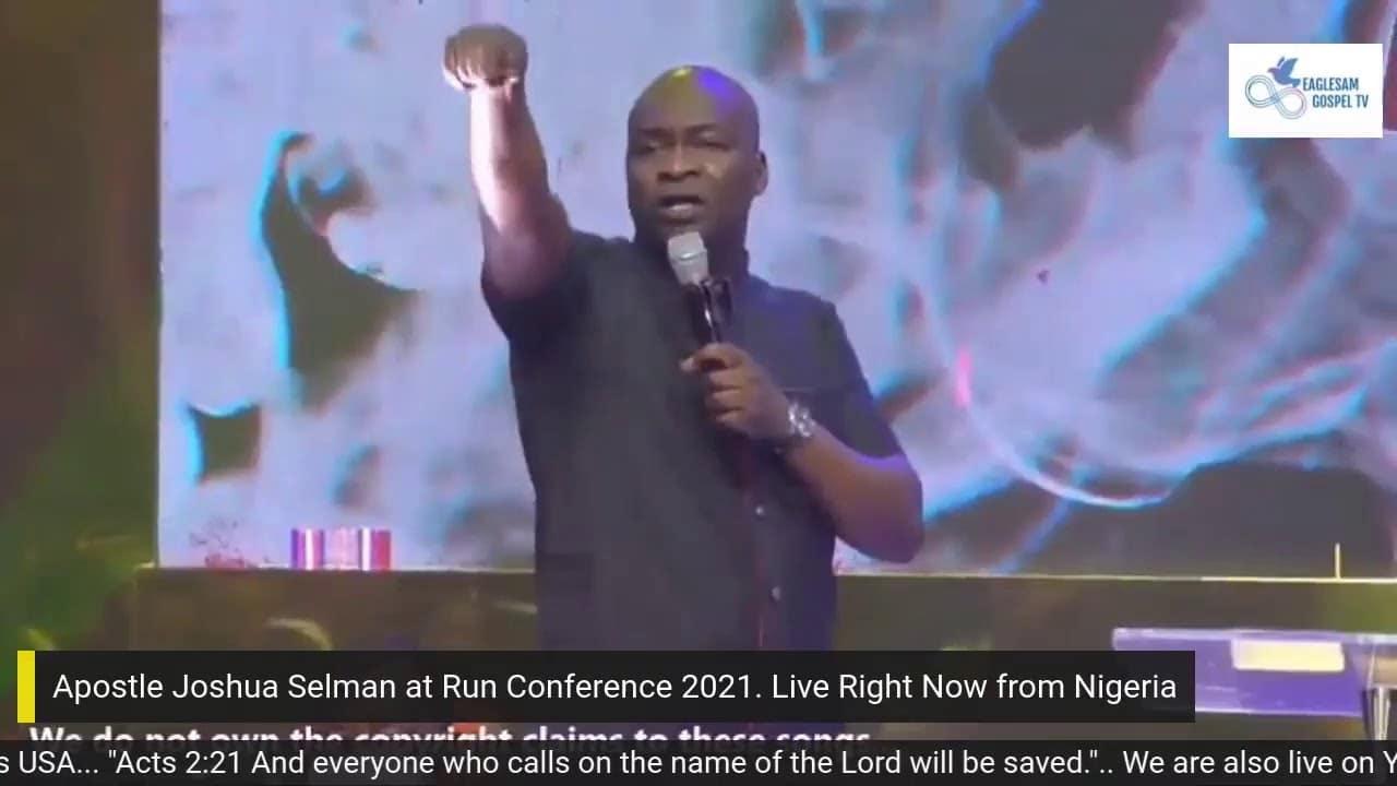 run conference 2021 with apostle joshua selman